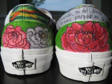 Roses mural