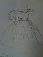 Princess Dress Sketch