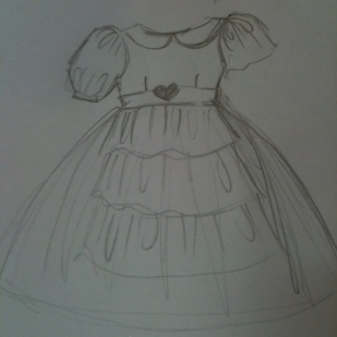 Princess Dress Sketch