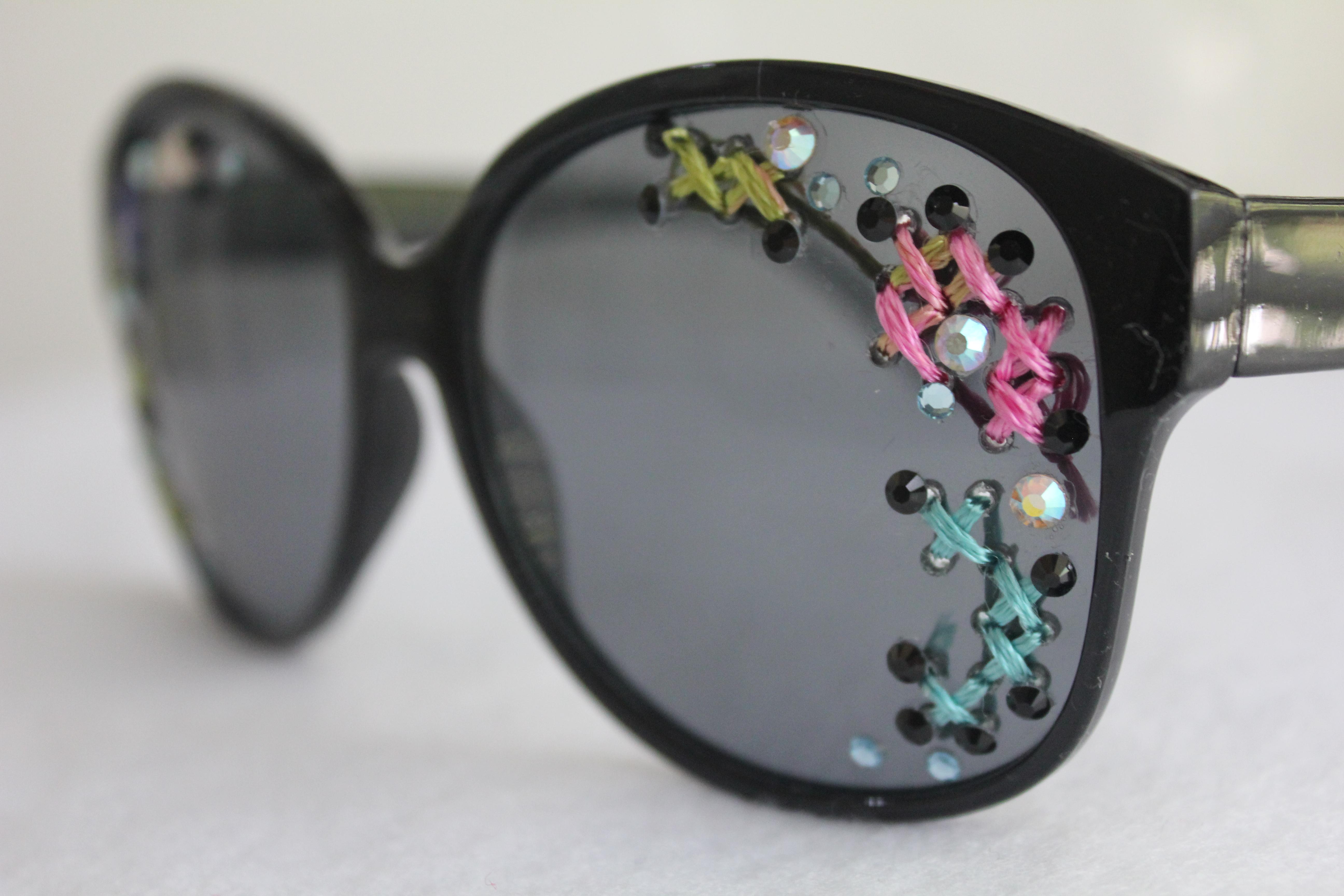 7395c5fc8d2 Etsy  Designer Inspired Embellished Sunglasses
