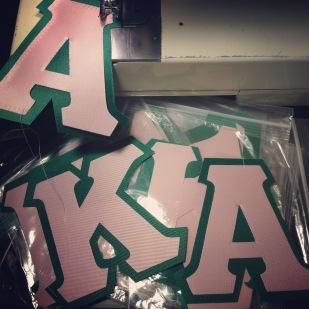 AKA Greek Letters